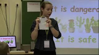 Урок английского языка, 6 класс, Каримова_М. А., 2017