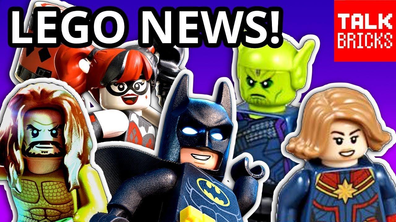 LEGO Aquaman minifigure 2019 w Bonuses 76116 Batsub Underwater Clash NEW