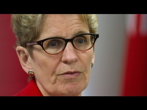 Ontario Premier Kathleen Wynne sued over sale of Hydro One