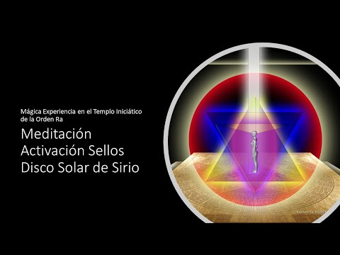 🧡💛💚Maravillosa Meditación: Activación Sellos 🌞Disco Solar de Sirio🌟