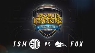 TSM vs. FOX - Week 7 Game 2 | NA LCS Summer Split | TSM vs. Echo Fox (2017)