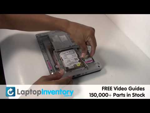 Toshiba NB305 WiFi Replacement Repair - Wireless Card Laptop Notebook Install Guide, Replace NB205