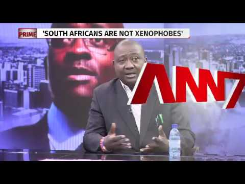 Xenophobic attacks discussion on ANN7,  23 February 2017