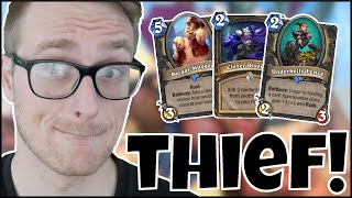 Hearthstone | It's BURGLE Time! | Wild Tempo Thief Quest Rogue | Saviors of Uldum
