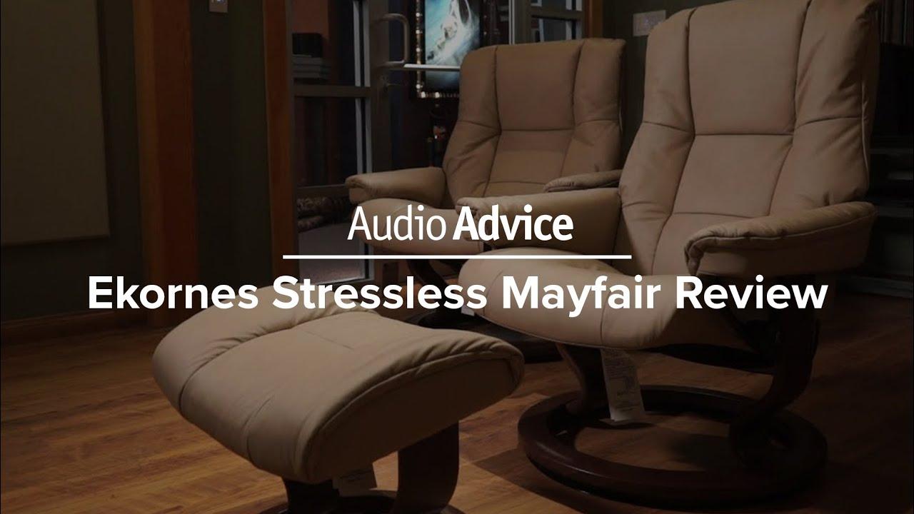 Stressless Chairs Reviews Linen Desk Chair Ekornes Mayfair Review Youtube