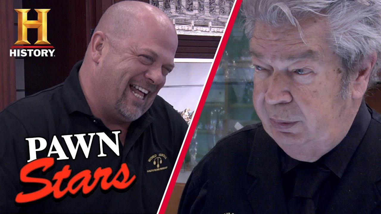 DEAL DUEL for 2 VERY RARE Items (Rick vs. the Old Man) | Pawn Stars (Season 7) | History