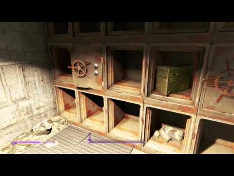 Fallout 4 - UNIVERSITY CREDIT UNION - HIDDEN TREASURE