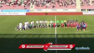 KSV Hessen Kassel - Kickers Offenbach: Tore und Höhepunkte