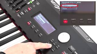 """""""System Settings and Backup"""" Roland RD-2000 #16"""
