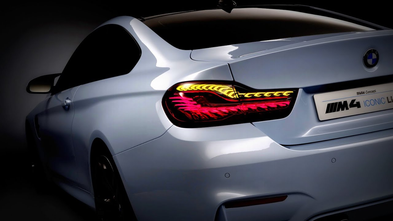 2015 BMW M4 Iconic Lights Concept  YouTube