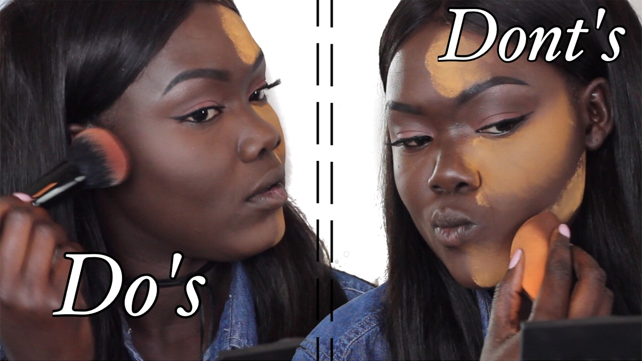 Download DO'S and DONT'S Highlight & Contour For Dark Skin WOC || Nyma Tang