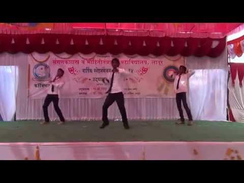 Mala Ved Lagle premache marathi hindi mix song dance byVikram Atul Prashant at COCSIT gathering 2014