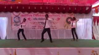 Mala Ved Lagle premache marathi hindi mix song dance byVikram Atul Prashant at COCSIT gathering 2014