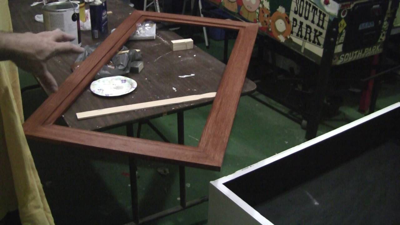 How to make a pinball coffee table part 2 painting the cabinet how to make a pinball coffee table part 2 painting the cabinet pinballhelp geotapseo Image collections