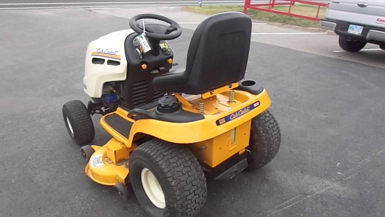 Maxresdefault on Cub Cadet Riding Lawn Mower