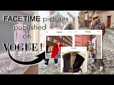 FACETIME pictures published on VOGUE! Digital Copenhagen Fashion Week AW21