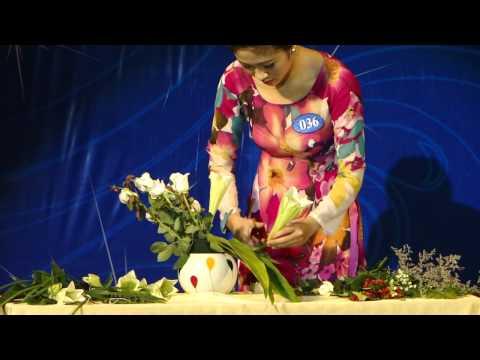 Lương Thị Ngọc Linh SBD 036 Cắm hoa