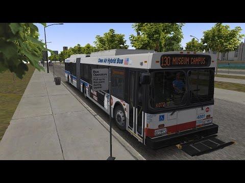 Omsi 2 - Chicago Downtown - DE60LF Hybrid - Linie 130 (Ogilvie Station - Adler Planetarium)