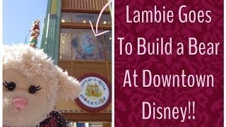 #380: Lambie Goes To Build A Bear At Downtown Disney! - Lambcam