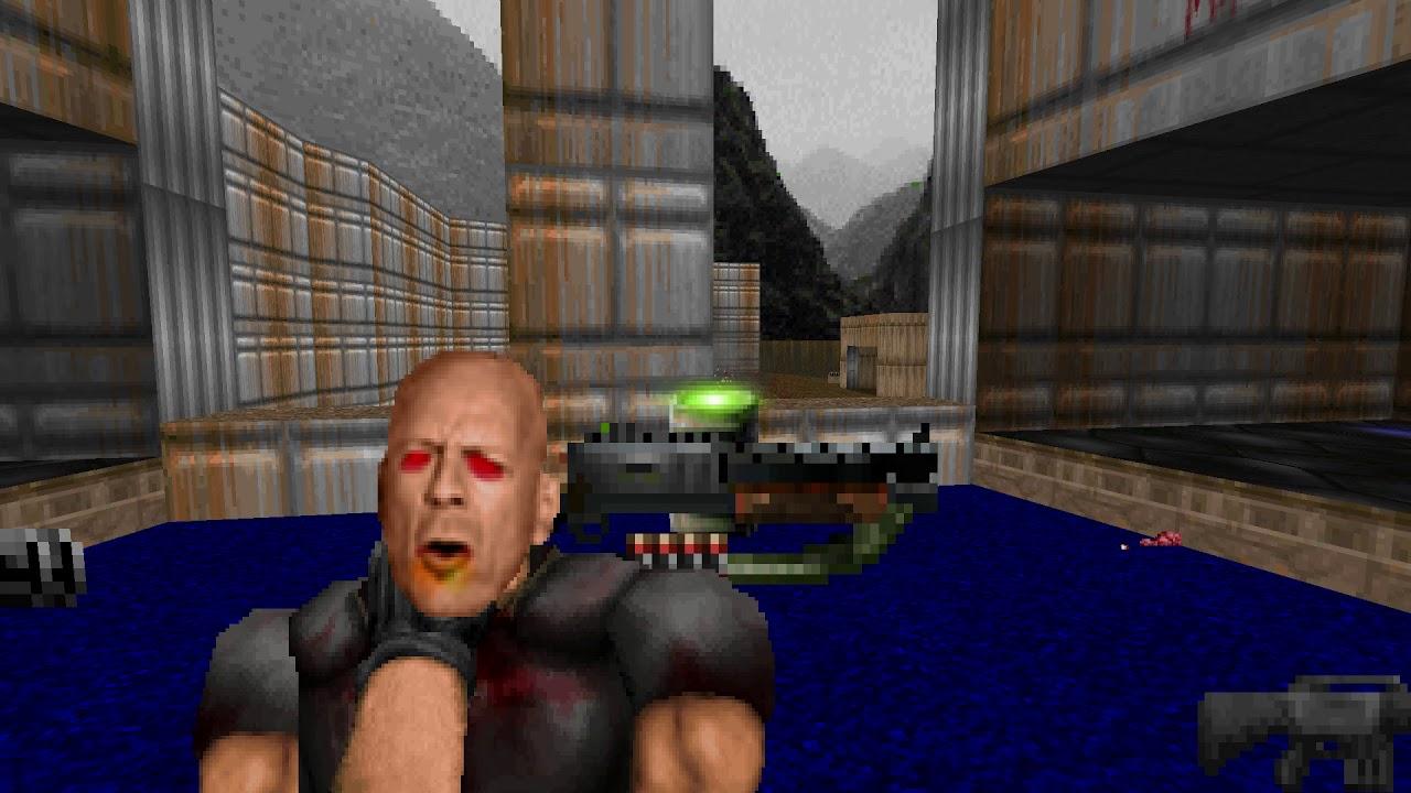New Brutal Doom Grab Sprites Youtube