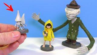 Маленькие Кошмары 🔥 Слепой Уборщик Шестая и Номы из игры Little Nightmares Видео Лепка