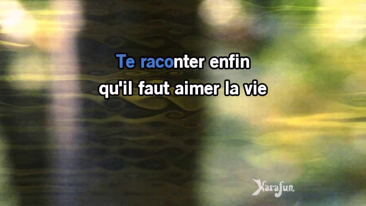 Karaoké Mistral gagnant - Renaud *