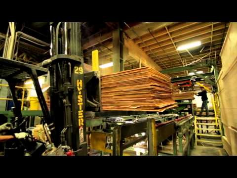 Columbia Forest Products - Product lifecycle from forest to completion