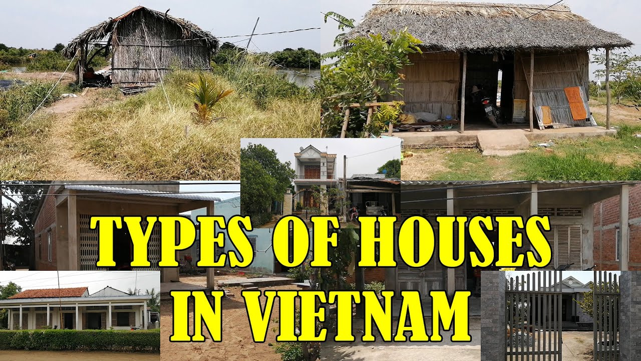7 Types Of Houses In Rural Vietnam Youtube