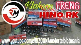 Download lagu Klakson FRENG pendek suara HINO RK MP3