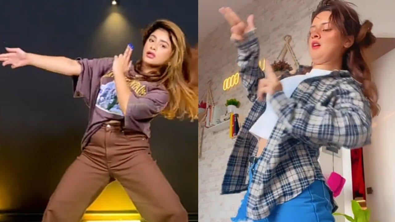 Avneet Kaur vs Anam Darbar ❤️Dooja Cat-Woman 😍#shorts #avneetkaur #anamdarbar #trending #viral#dance