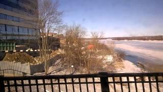 21 автобусный маршрут 14 марта 2015 года Красный химик   Дымково   Старый мост   ул Профсоюзная   ул(, 2015-04-18T03:45:30.000Z)