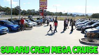 Subaru Crew Birthday MEGA Cruise