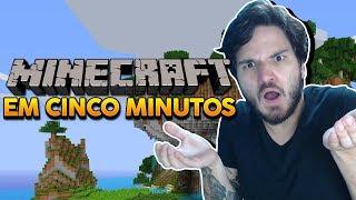 ZERANDO MINECRAFT EM 5 MINUTOS! SERÁ POSSÍVEL ISSO?!!!