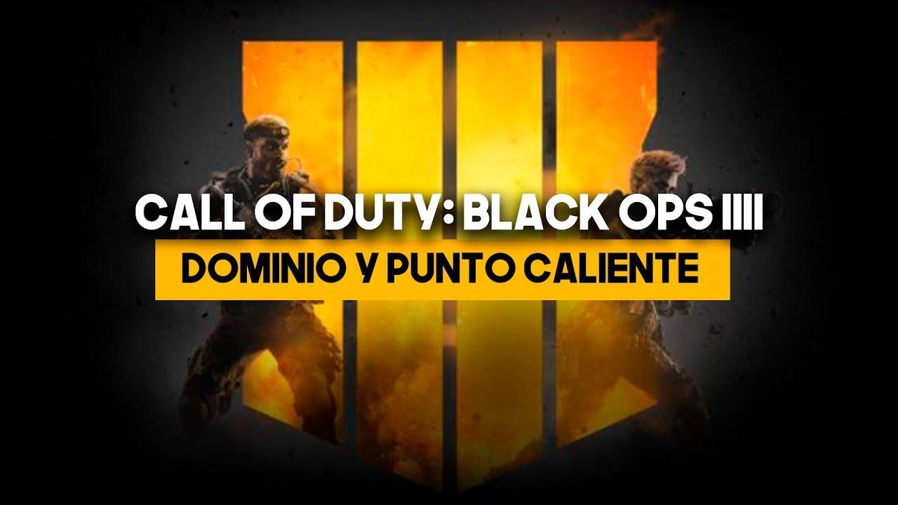 Call of Duty Black Ops IIII Beta - Consejos y estrategias para Dominio y Punto Caliente