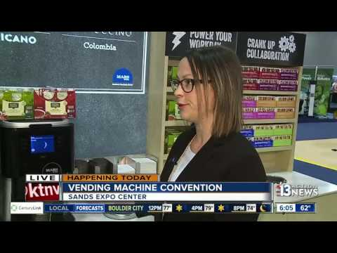 Las Vegas Vedning Machine Convention Debuts New Products