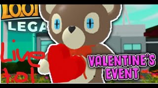 Loomian Legacy Valentines Update Grinding Live! #ROADTO400SUBS