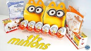 Kinder Surprise Despicable Me Миньоны &  Minions  McDonald's Happy Meal Toys