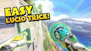 Lucio Got 5 Kills With This One EASY TRICK!! - Overwatch Funny Moments Best Plays 35