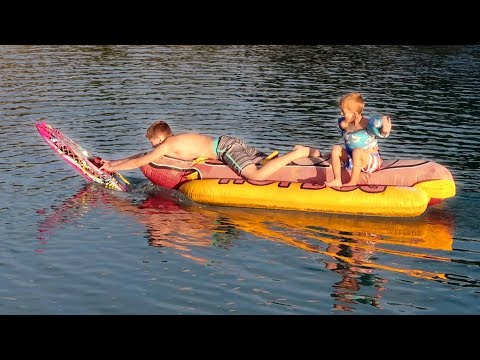 RC Boats VS My Kids!!