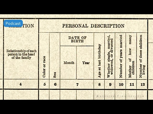 AF-514: Common-Law Marriages: A Closer Look at Marriage Records #4