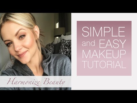 "Easy ""everyday"" simple make-up look"