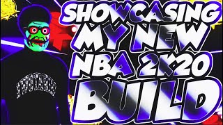 SHOWCASING MY NEW NBA2K20 BUILD..... but i try to make you laugh