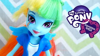 Rainbow Dash Show Accurate Equestria Doll My Little Pony Unboxing Review