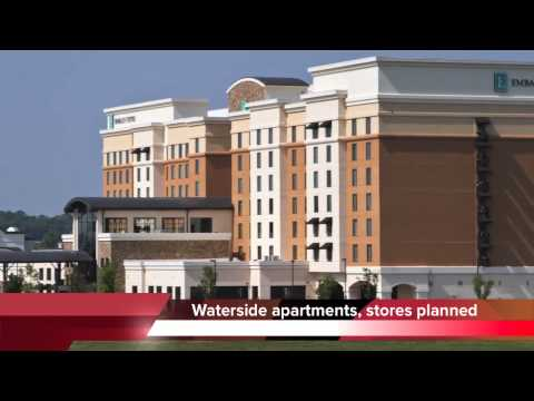 Waterside Lifestyle Center in Chattanooga - new development