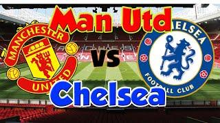 🔴Man Utd - Chelsea  (EN DIRECT) !!🔴