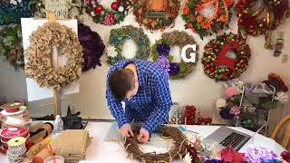How To Create Your Own Burlap Wreath!