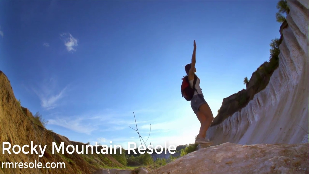 Hiking Boot Resoles by Rocky Mountain Resole - YouTube