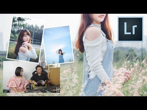Lightroom คุยกันเรื่องวิธีเลือกโทนภาพ [โทนหน้าหนาวญี่ปุ่นใสๆ] - วันที่ 01 Jan 2018