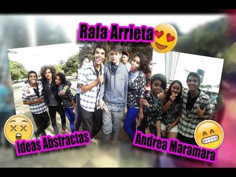 ► Conociendo a Rafa Arrieta, Andrea Maramara e Ideas Abstractas   #DamichShow