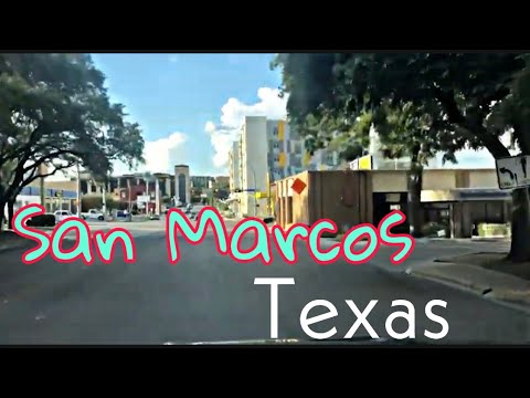 Welcome To San Marcos, Texas